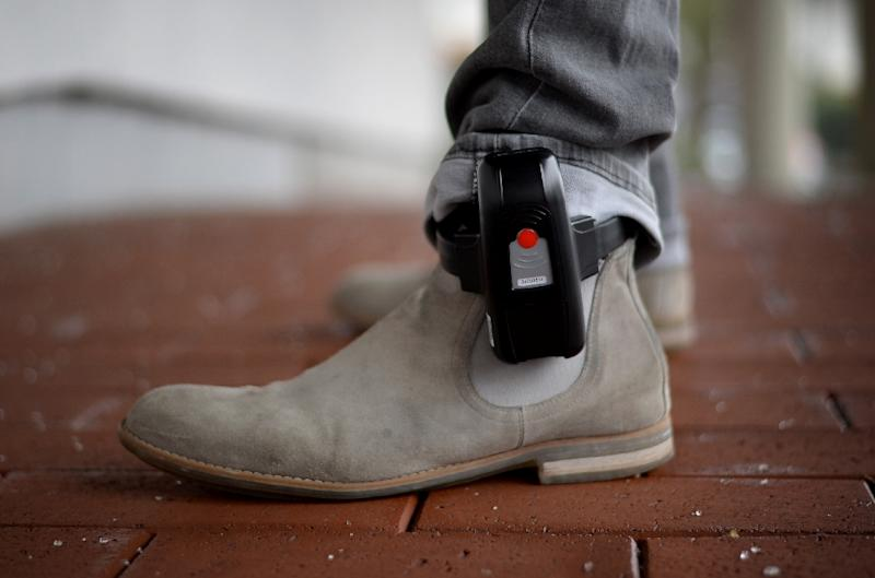 Ankle bracelets can be used to track suspected jihadists after they are released from jail (AFP Photo/Susann Prautsch)
