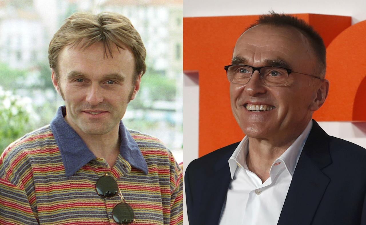 <p>Trainspotting was only Danny Boyle's second film, following his acclaimed debut Shallow Grave, where he met Ewan McGregor – Credit: Rex Features/AP </p>