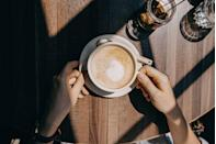 "<p>Moms (and women in general) tend to put their own needs on the back burner, but even just a few minutes of ""me time"" will help you reboot. Pausing to savor your favorite hot cuppa and taking a few deep breaths enables you to warm your hands and unwind — and it benefits your heart as well. In fact, <a href=""https://journals.sagepub.com/doi/full/10.1177/0146167217733073"" rel=""nofollow noopener"" target=""_blank"" data-ylk=""slk:one study found"" class=""link rapid-noclick-resp"">one study found</a> that choosing to be alone for even 15 minutes could lead to more relaxation and less stress.</p>"