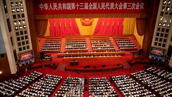The incident has now been brought up to China's top legislative body
