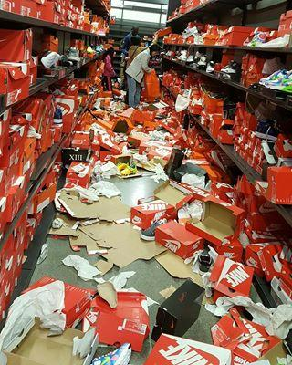 c169ab190 Black Friday Shoppers Trashed This Nike Store Like a 'Zombie Apocalypse'