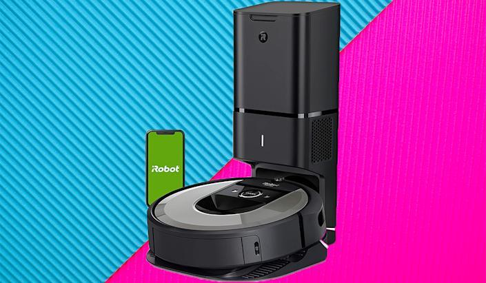 This Roomba is not only self-docking but also self-emptying. Get it for $500 for Prime Day. (Photo: Amazon)
