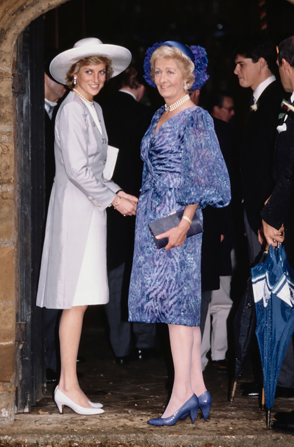 Diana and her mother Frances Shand Kydd