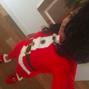 """<p>Taraji P. Henson looked as cute as can be in her Santa Claus onesie. """"Mrs Claus HERE!"""" she exclaimed. """"Have you been naughty or nice?! #merrychristmasMY FAVORITE TIME OF THE YEAR."""" (Photo: <a rel=""""nofollow noopener"""" href=""""https://www.instagram.com/p/BOcheb_DlQd/"""" target=""""_blank"""" data-ylk=""""slk:Instagram"""" class=""""link rapid-noclick-resp"""">Instagram</a>) </p>"""