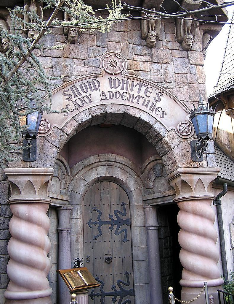 "<p>Allowing viewers to experience the events of Walt Disney's pioneering 1937 animated feature first hand, Scary Adventures ventures through foreboding castles and forests en route to a happily ever after. While the ride still exists at Disneyland, the scary adventures ceased for Magic Kingdom visitors in 2012.<i><a href=""https://en.wikipedia.org/w/index.php?curid=14183190"" rel=""nofollow noopener"" target=""_blank"" data-ylk=""slk:(Photo: GFDL/Wikipedia)"" class=""link rapid-noclick-resp"">(Photo: GFDL/Wikipedia)</a></i></p>"