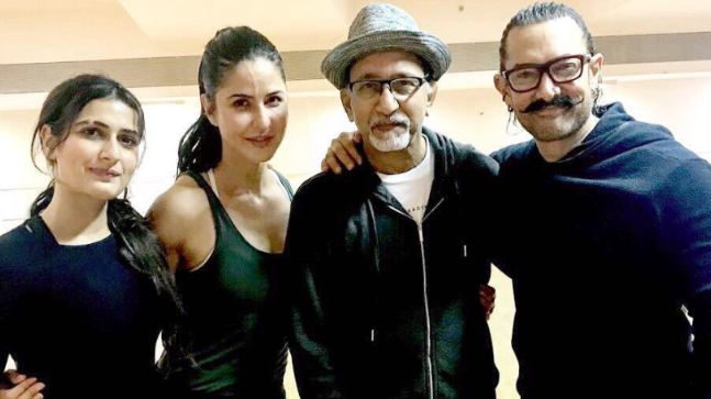 Going by her recent photos, it looks like Fatima Sana Shaikh recently shaved a part of her eyebrow for Thugs of Hindostan.