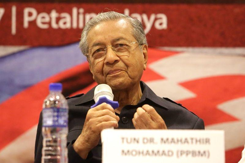 Leave if you are unhappy, Dr M tells PPBM members