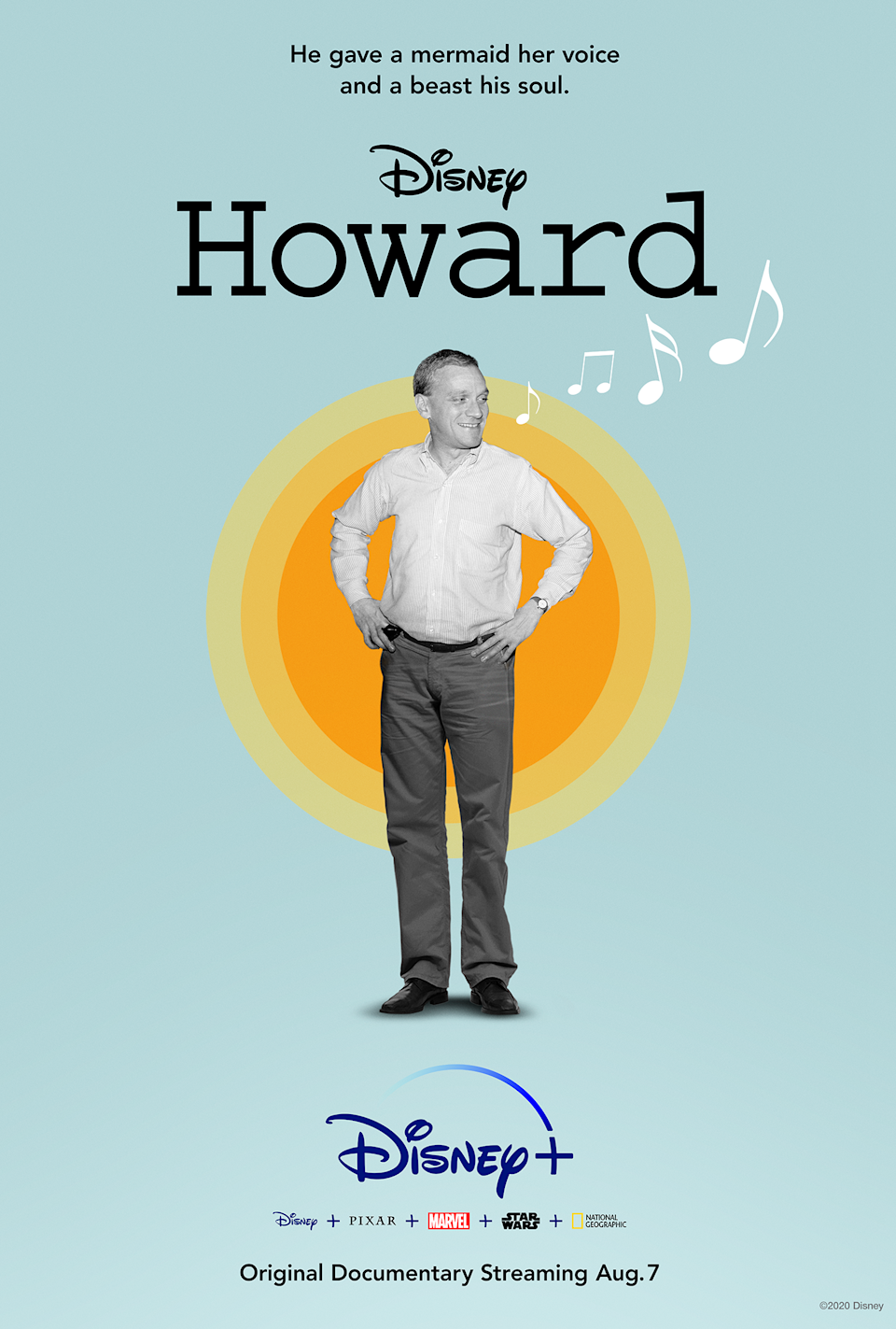 Key art for Howard, a new documentary about Howard Ashman coming to Disney+. (Disney)