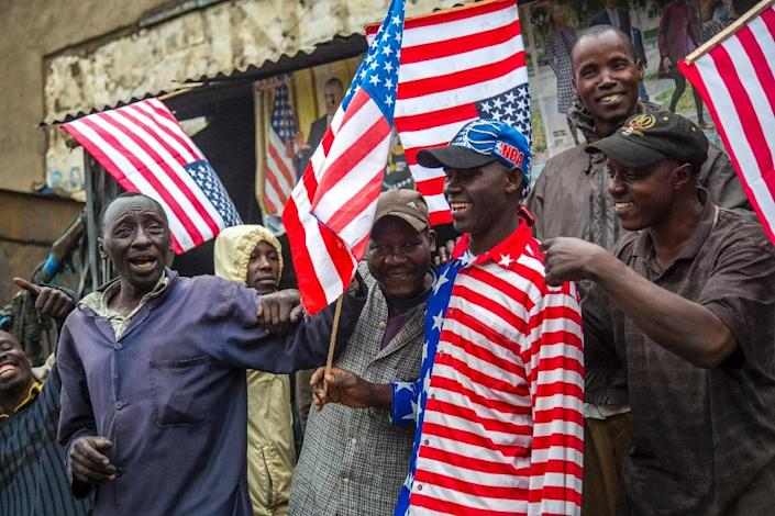 Washington's imports from Africa outweigh exports by some $4.3 billion (AFP Photo/Georgina Goodwin)