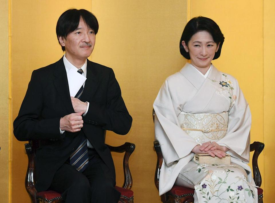 """<p>Though Crown Princess Kiko married Crown Prince Akishino in 1990, she actually spent much of her youth outside of Japan. She lived in <a href=""""https://www.nytimes.com/1990/06/26/world/tokyo-journal-she-s-shy-and-not-so-shy-japan-s-princess-bride.html"""" rel=""""nofollow noopener"""" target=""""_blank"""" data-ylk=""""slk:Philadelphia for six years"""" class=""""link rapid-noclick-resp"""">Philadelphia for six years</a> as a child while her father attended the University of Pennsylvania, and later moved with her family to Vienna. It positioned her well for her life as a working royal, often traveling with her husband for official duties abroad. <br></p>"""