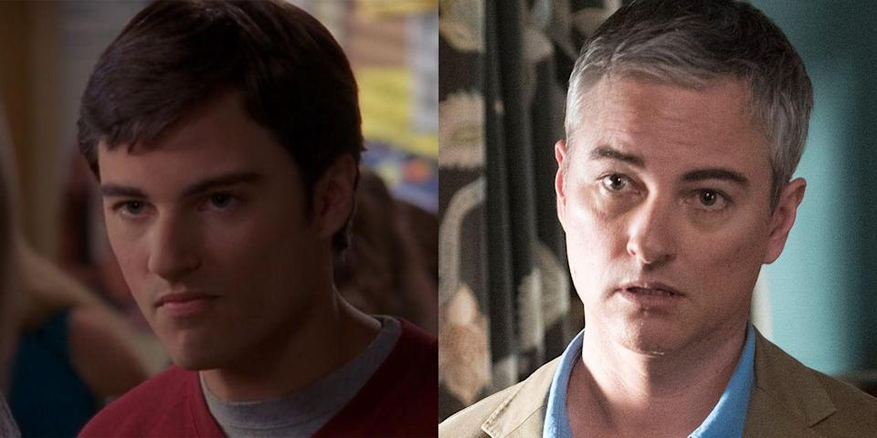 <p>Jack's journey to coming out on <em>Dawson's Creek</em> (by way of dating Joey) set a new standard for how to deal with LGBTQ+ storylines on TV in the late '90s and early '00s. For five seasons, Kerr Smith beautifully explored Jack's growth and relationships, even putting a spotlight on his friendship with the extremely conservative Grams. Kerr Smith keeps a pretty low profile these days, but he <em>was </em>most recently seen starring in another teen drama: <em>Riverdale</em>. Today, he's 48 and also known for his roles in <em>Life Unexpected</em> and <em>The Fosters</em>.</p>