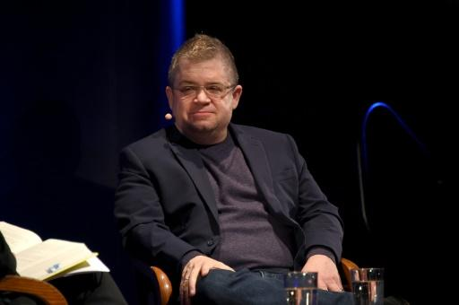 "Entertainer Patton Oswalt discusses the book ""I'll Be Gone in the Dark"" written by his late wife Michelle McNamara, who came up with the ""Golden State Killer"" moniker"