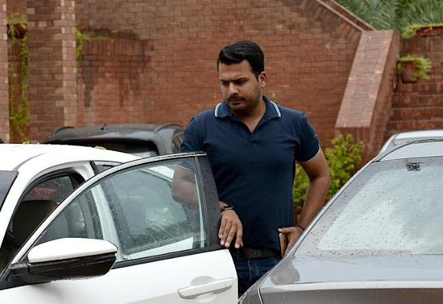 Pakistani cricketer Sharjeel Khan was banned for spot-fixing -- where incidents in a game are rigged -- as opposed to match-fixing, where the entire result is (AFP Photo/STR)