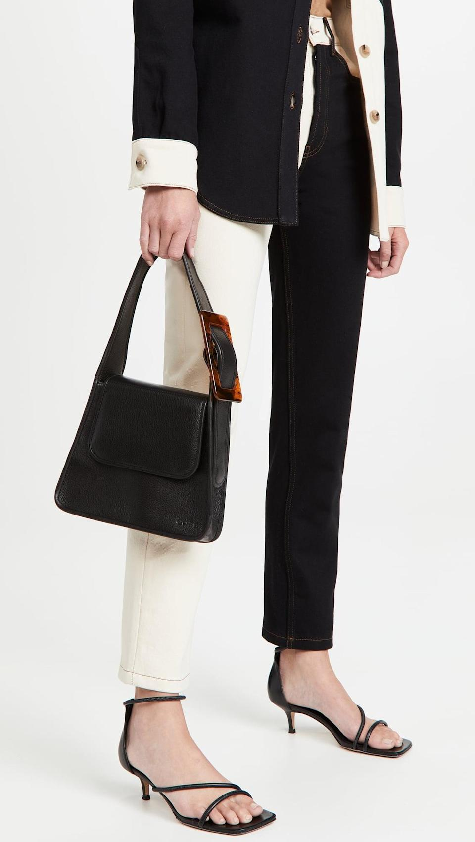 <p>We small little bags for dinner dates, and this <span>EDAS Yshaia Bag</span> ($435) fits the bill. It'll go with any look from trousers to dresses.</p>