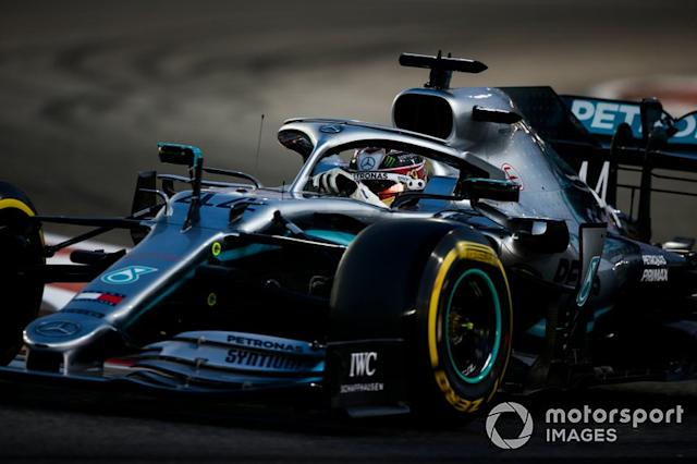 """Lewis Hamilton, Mercedes AMG F1 W10 <span class=""""copyright"""">Andrew Hone / Motorsport Images</span>"""