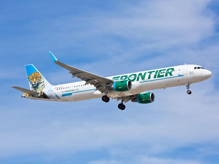Frontier Airlines Airbus A321
