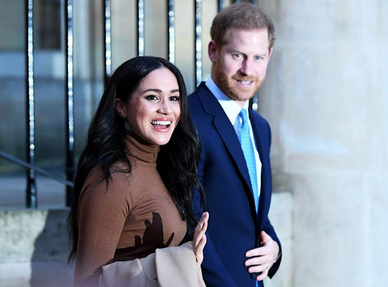 Meghan and Harry | DANIEL LEAL-OLIVAS/POOL/AFP via Getty