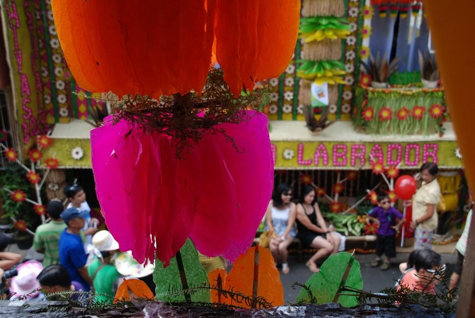 Tourists enjoy the Pahiyas Festival in Lucban, Quezon Province, about 160-kilometers south of Manila, where locals honor the patron saint of the farmer, San Isidro Labrador. (Bernard Testa/NPPA Images)
