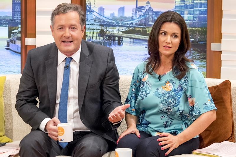 Rejected: Susanna Reid turned down a role in Love Actually over Piers Morgan: Ken McKay/ITV/Rex