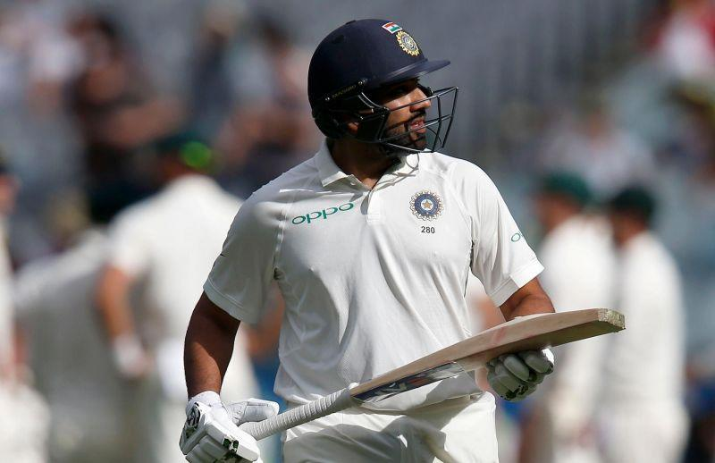 Rohit has failed to prove his batting prowess in Test cricket