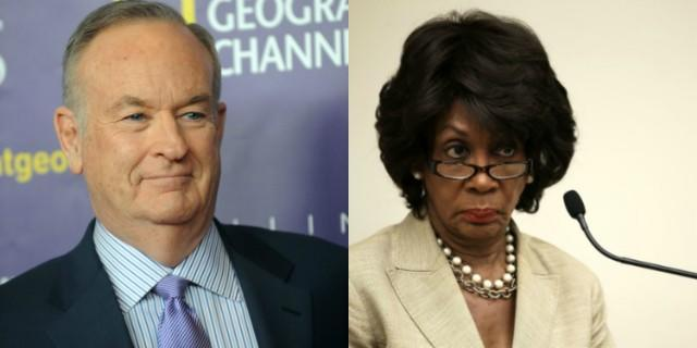 Bill O'Reilly Thought It Was A Good Idea To Criticize Rep. Maxine Waters' Hair