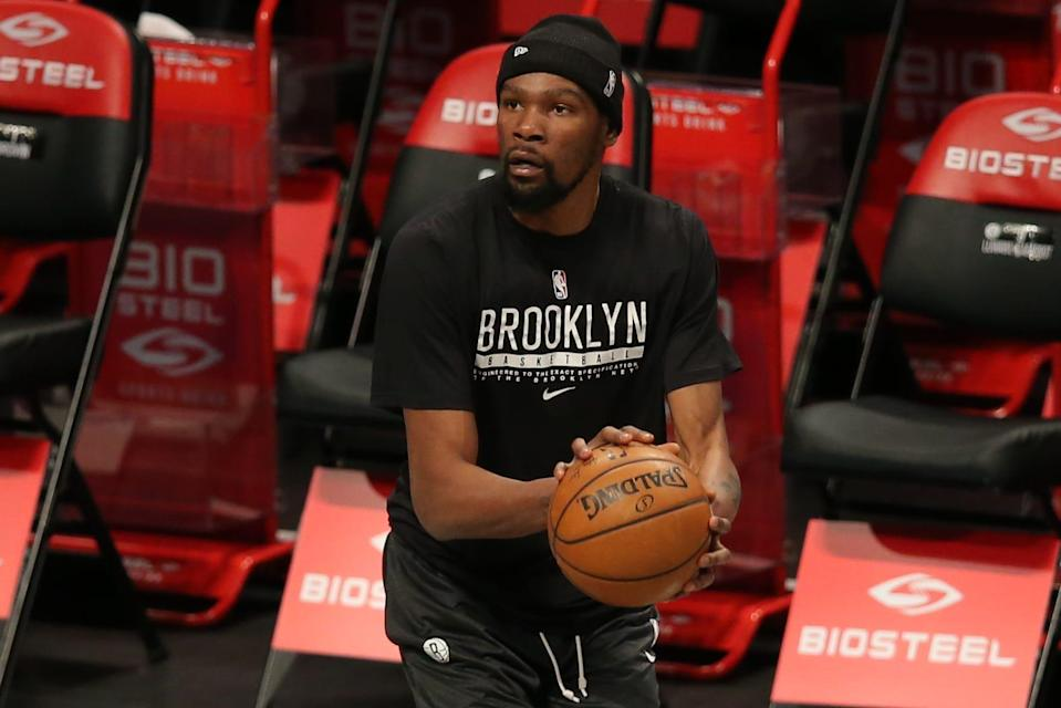 Kevin Durant has been out since mid-February.