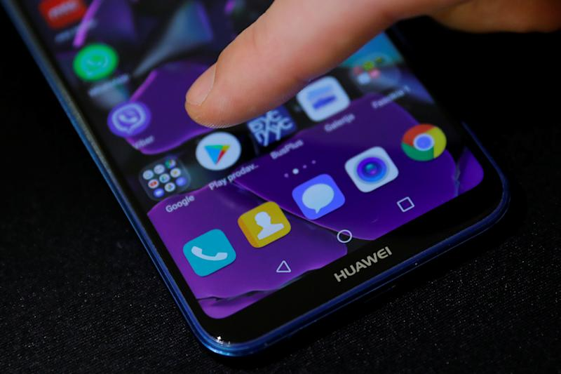 Google's Android on a Huawei phone