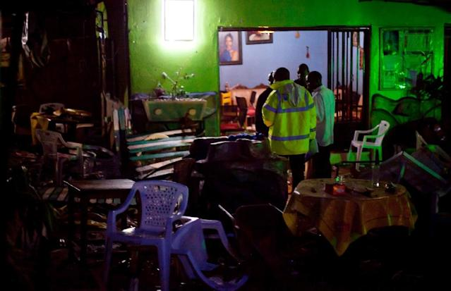 In 2010 Somalia's Al-Shabaab targeted Ugandan fans watching the final between the Netherlands and Spain at a restaurant and at a rugby club in the Ugandan capital (AFP Photo/Trevor Snapp)