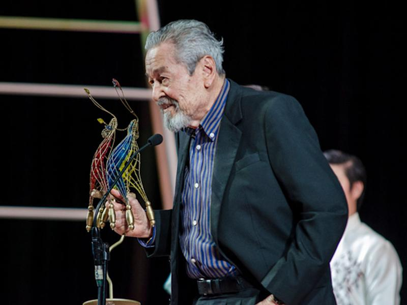 Veteran actor Eddie Garcia dies at 90. (Source: The Hive Asia)