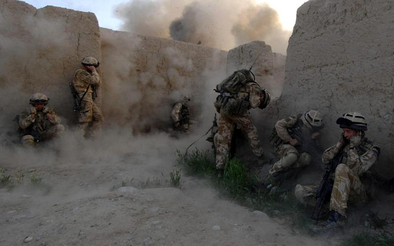 British forces fought in Sangin from 2006 until 2010, suffering heavy casualties - PA