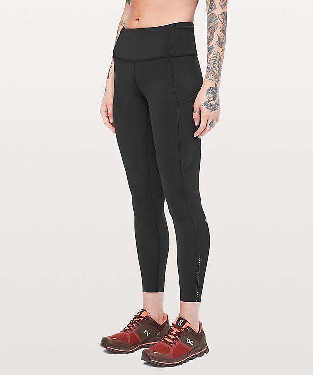 """<strong><h3>Lululemon: The Popular Legging</h3></strong> <br>Lululemon can take a good chunk of credit for kickstarting the athleisure trend. While not the most popular leggings from the brand, this pair has seen the most consistent positive reviews.<br><br>The hype: 3.2 out of 5 stars and 960 reviews on Lululemon<br><br>What they're saying: """"The Fast and Free tights are hands down my favorite and best tights Lululemon has to offer. The tights have a moderate compression around the waistband and has an adjustable waist string to tighten during your runs. They are lightweight and feel like a second skin. I wear these tights for yoga, strength and conditioning, everyday wear, and for running. The side pocket is a great feature, especially when running to hold your phone. I am 5'2 and the length of the tights fit me perfectly so I don't have to get them hemmed. My only complaint about these tights is that darker colors will fade slightly and the light sheen will fade, but other than that I would recommend these tights to everyone."""" - Shavasanaallday, Lululemon Review<br><br><strong>lululemon</strong> Fast and Free Tight II 25"""" Non-Reflective Nulux, $, available at <a href=""""https://www.lululemon.co.uk/en-gb/p/fast-and-free-tight-ii-25%22-non-reflective-nulux/104700078.html?CID=Google_UK_Shopping_Brand&gclid=EAIaIQobChMI8f3M6srk5QIVyRnTCh0zrg5CEAQYASABEgIdF_D_BwE&gclsrc=aw.ds"""" rel=""""nofollow noopener"""" target=""""_blank"""" data-ylk=""""slk:lululemon"""" class=""""link rapid-noclick-resp"""">lululemon</a><br><br><br><br><br>"""