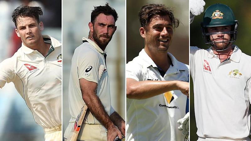 Who will it be: Cartwright, Maxwell, Stoinis or Head? Pic: Getty