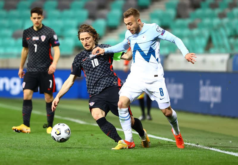 World Cup Qualifiers Europe - Group H - Slovenia v Croatia