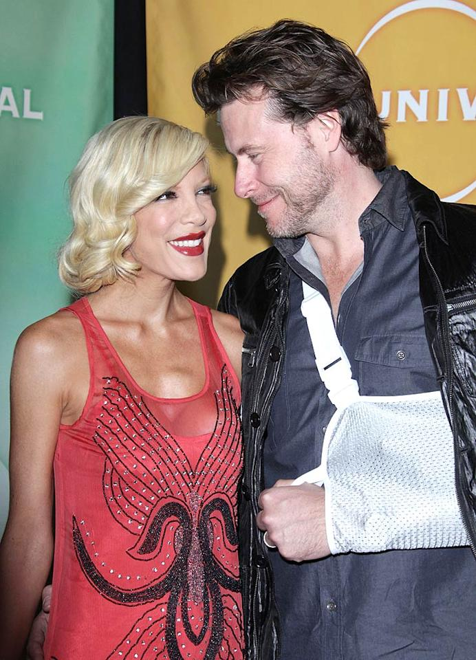 "<i>Star</i> magazine claims Tori Spelling and Dean McDermott's marriage is ""headed for a terrible crash."" See what insiders confirm to <a href=""http://www.gossipcop.com/tori-spelling-dean-mcdermott-marriage-crisis-unchartered-territori/"" target=""new"">Gossip Cop</a> about these high-speed rumors. Jen Lowery/<a href=""http://www.splashnewsonline.com"" target=""new"">Splash News</a> - January 10, 2010"