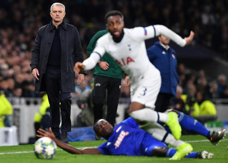 Jose Mourinho says reports of a row between him and Tottenham Hotspur full-back Danny Rose are wide of the mark