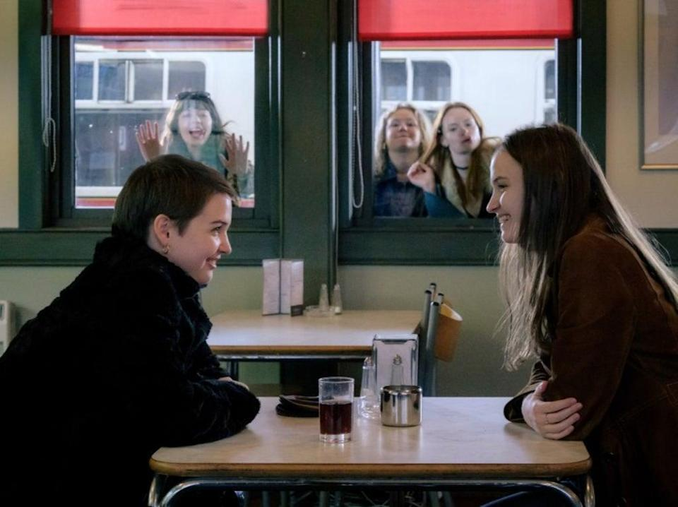 The characters here feel truthful largely because the cast are so willing to channel the ecstatic social dynamics of teen girls who still view the adult world as something new and exotic (Sony Pictures)
