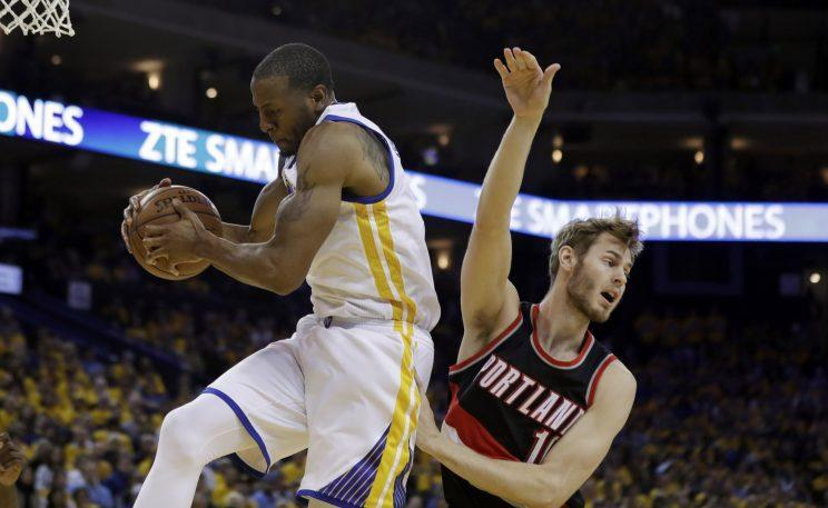 Andre Iguodala finished second in Sixth Man voting in 2016. (AP)