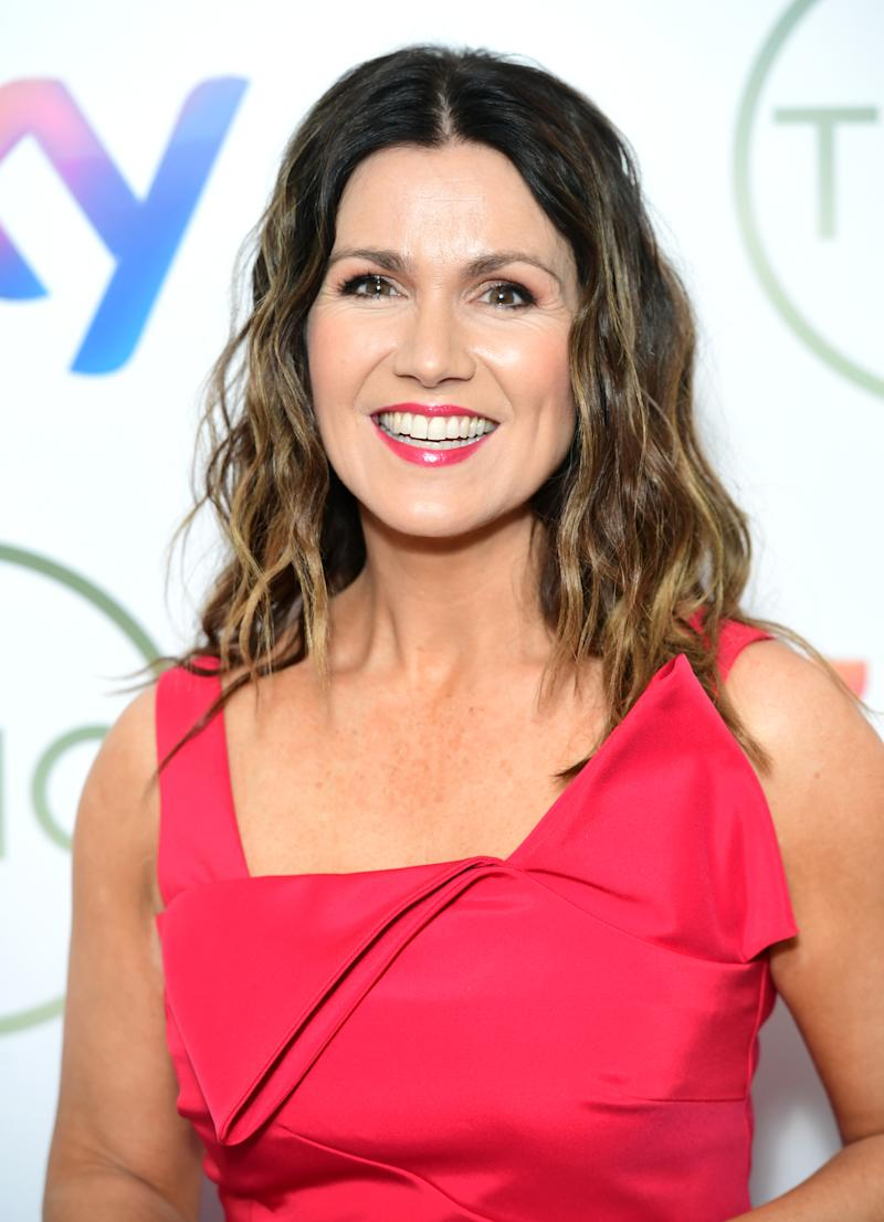 Susanna Reid attending the TRIC Awards 2020 held at the Grosvenor Hotel, London. PA Photo. Picture date: Tuesday March 10, 2020. See PA story SHOWBIZ TRIC. Photo credit should read: Ian West/PA Wire (Photo by Ian West/PA Images via Getty Images)