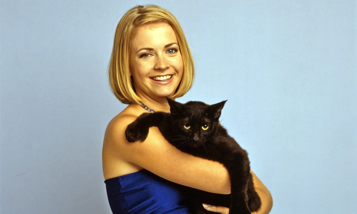 Melissa Joan Hart starred as Sabrina for seven seasons and three films. (Photo by George Lange/Walt Disney Television via Getty Images)