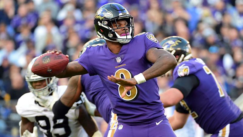 Ravens Roundup: Jackson's passing struggle, McCoy to visit Ravens Tuesday