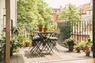 """<p><a rel=""""nofollow noopener"""" href=""""http://www.housebeautiful.co.uk/garden/designs/how-to/a781/balcony-garden-guide/"""" target=""""_blank"""" data-ylk=""""slk:Balcony gardening"""" class=""""link rapid-noclick-resp"""">Balcony gardening</a> has been on a steady rise in recent years, but now, with more people living in rented properties or with little or no outdoor space in city areas, this new approach to gardening is proving to be popular. </p><p>""""By enhancing the space that is available, regardless of size, it provides an area to express creativity and style. Whether it's a balcony, patio or windowsill, there's a range of planting containers and vertical structures to allow you to grow various flowers and foliage,"""" explain the team at Flymo.</p>"""