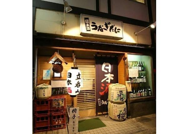 The izakaya is in an alley about a two-minute walk from Shinsaibashi Station
