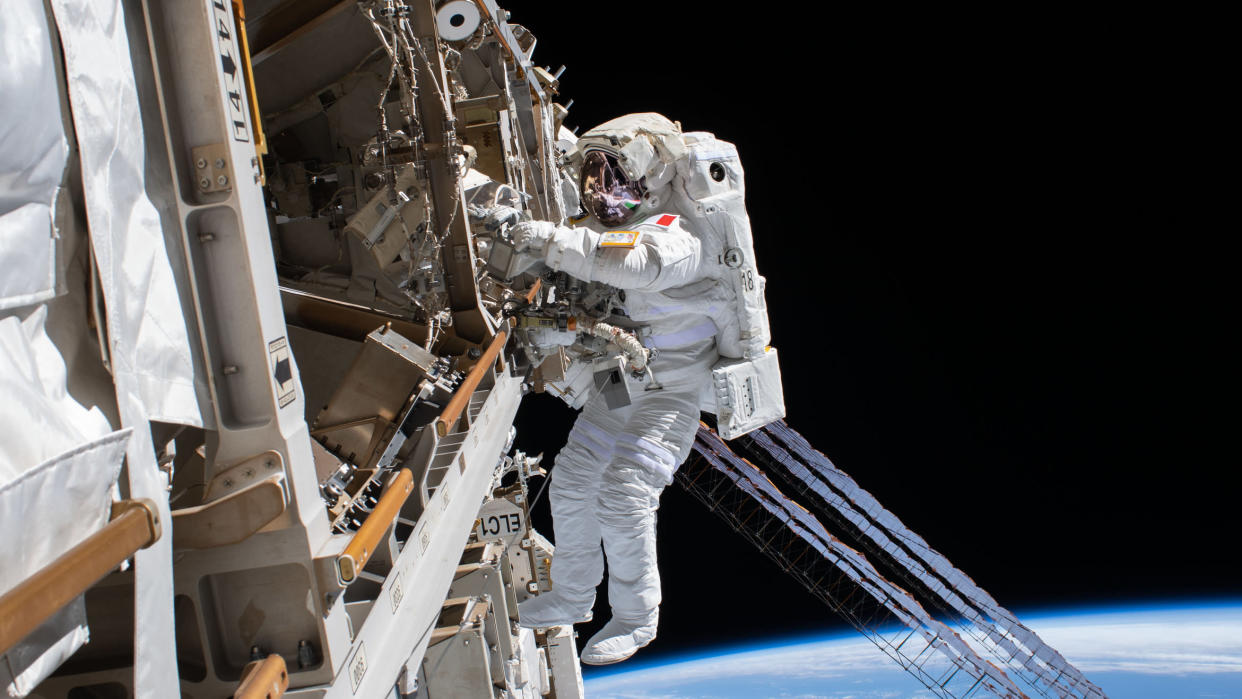 'Among the Stars' delivers access to the inner workings of NASA. (NASA/Disney)