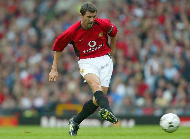 Keane won seven Premier League titles during his 12 seasons at Manchester United