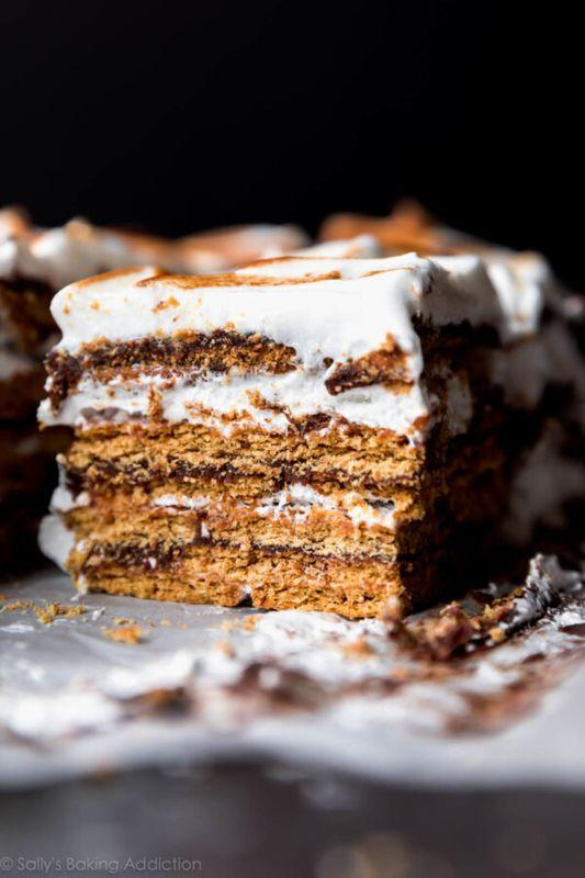 Get the No-Bake S'mores Cake recipe from Sally's Baking Addiction