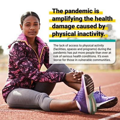 Change for Good Health seeks to make access to physical activity more equitable for everyone. (CNW Group/impakt)