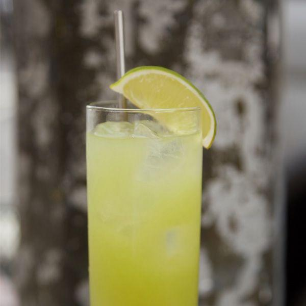"""<p>2 parts Hornitos Reposado Tequila</p><p>½ part Lime juice</p><p>3 parts Pineapple juice</p><p>2 dashes Green habanero hot sauce<br> <br>Combine ingredients in a mixing glass. Shake vigorously and pour into a martini or highball glass. Garnish with a lime slice.</p><p><em>Via </em><em><a href=""""https://www.hornitostequila.com/"""" rel=""""nofollow noopener"""" target=""""_blank"""" data-ylk=""""slk:Hornitos Tequila"""" class=""""link rapid-noclick-resp"""">Hornitos Tequila</a></em></p>"""