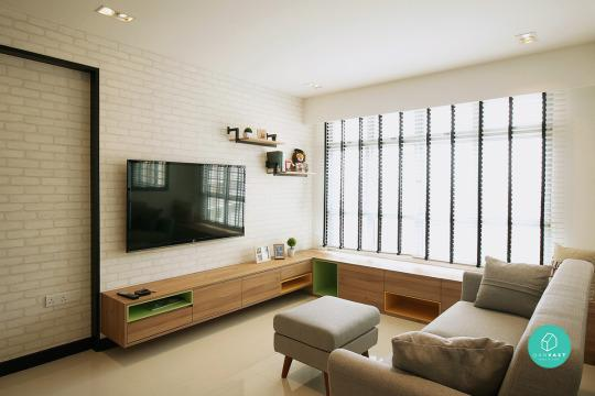 Wonderful ... The Living Room Can Really Help To Lighten The Mood And Create A  Brighter, Airier Home. Install Venetian Blinds To Help Tone Down The  Mid Day Glare And ...