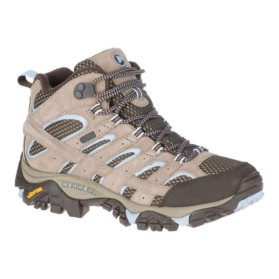 "<p><strong>Details</strong></p><p>merrell.com</p><p><strong>$135.00</strong></p><p><a href=""https://go.redirectingat.com?id=74968X1596630&url=https%3A%2F%2Fwww.merrell.com%2FUS%2Fen%2Fmoab-2-mid-waterproof%2F27933W.html%3Fdwvar_27933W_color%3DJ06054&sref=https%3A%2F%2Fwww.prevention.com%2Ffitness%2Fworkout-clothes-gear%2Fg19791835%2Fbest-hiking-shoes-for-women%2F"" rel=""nofollow noopener"" target=""_blank"" data-ylk=""slk:Shop Now"" class=""link rapid-noclick-resp"">Shop Now</a></p><p>The boot version of Merrell's Moab has the same pedigree as its lower cousin, but with more ankle support. Plus, reviewers rave that its cushy insole makes it one of the most comfortable options available: ""I did something no experienced hiker would ever do—I wore brand new boots right out of the box without break in for two weeks of intense hiking,"" one Zappos customer says. But they ""felt like bedroom slippers with excellent support and <strong>were dry in even pounding rain</strong>.""</p>"