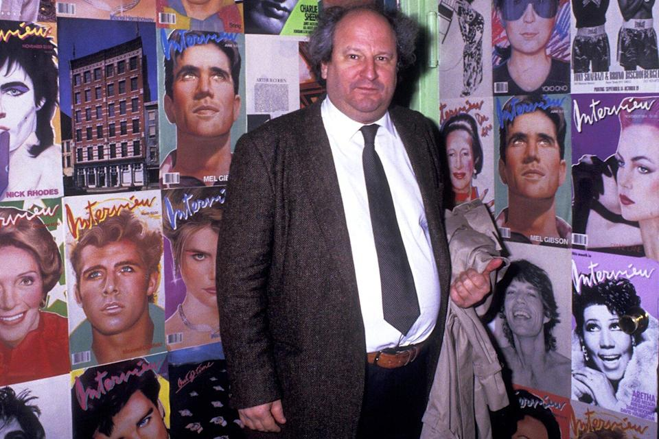 Bobby Zarem attends Andy Warhol Memorial Service on April 1, 1987 at the Diamond Horseshoe Restaurant in New York City.